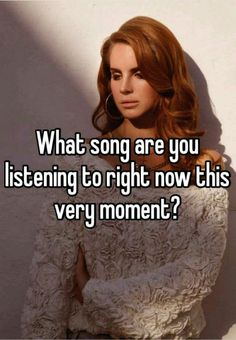 """""""What song are you listening to right now this very moment?"""" Download free #WhisperApp at http://whisper.sh and follow us for more #UCLA on http://Instagram.com/uclawhisper  http://Twitter.com/WhisperonUCLA http://Facebook.com/WhisperUcla"""