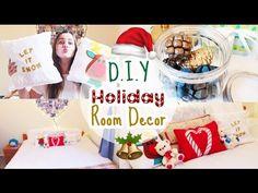 https://www.youtube.com/watch?v=cZ5KFMN4MKA  DIY Holiday Room Decor DIY Decor de Natal para quarto