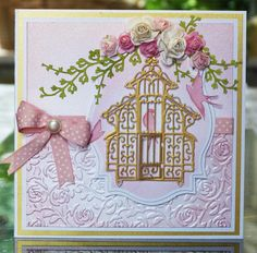 'Birdcage' - Oriental Die. Visit tatteredlace.co.uk for available stockists.