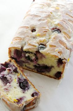 Blueberry Lemon Yogurt Cake — Pixels + Crumbs. Thinking about making this for Easter brunch.