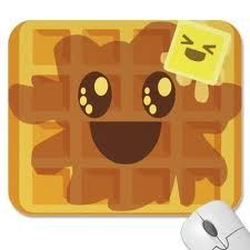1000+ images about Cute Characters on Pinterest   Syrup, M ... Cartoon Waffle With Face