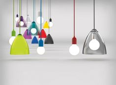 Nordlux Funk Pendant Kit with 250cm cable, ceiling rose, and lampholder in matching color (different colors)
