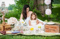 Vintage Tea Party photo session