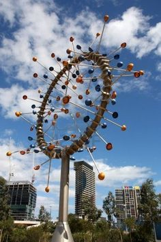Amazing modern sculpture in the Docklands of Melbourne, Australia Stock Photo - 4868501