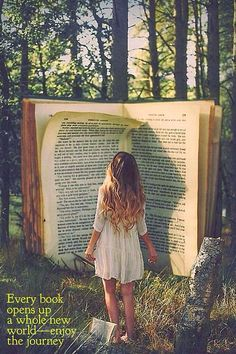 Every book opens up a whole new world - enjoy the journey.   bookstagram | Tumblr