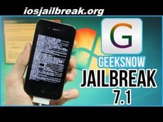 iPhone 4 jailbreak iOS 7.1 using a new tool Geeksn0w The Evad3rs since confirm that they not actively working on iOS 7.1 jailbreak & more likely wait until Apple iOS 8 was released later on 2014 this year. you have an iPhone 4 you can tethered jailbreak on iOS 7.1 using a new tool we called geeksn0w. Cant used evasi0n7 to jailbreak apple iOS 7.1 anymore.