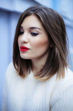 Tooooliko dugo skupljam inspirativne fotkice frizura srednje dužine na Pinterestu ... Danas želim da podelim sa vama neke od njih... ...