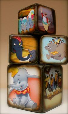 dumbo blocks for decor