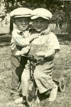 My Gramps and his brother  (Not my grandpa, someone else's)