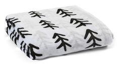 Organic Cotton Muslin Swaddle Blanket - Tree Hugger