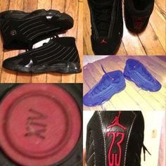 07271ff6507 Retro Jordan 14 Varsity Red / Black Size 7 7y