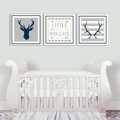 Hey, I found this really awesome Etsy listing at https://www.etsy.com/listing/248280611/baby-boy-nursery-decor-antlers-deer-head