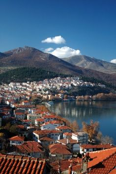 City by the lake ~ Kastoria, Macedonia, Greece 🇬🇷 Beautiful World, Beautiful Places, Macedonia Greece, Places In Greece, The Neighbor, Thessaloniki, Greece Travel, Countries Of The World, Greek Islands