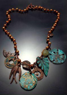 Gorgeous bohemian necklace ~