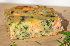 Delicious quiche without pastry Salmon chard Batch Cooking, Cooking Recipes, Savory Tart, Tasty Bites, Cooking Light, Different Recipes, Cooking Classes, Finger Foods, Entrees