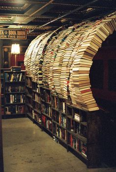 impling: a photo from the Last Bookstore. it is awesome.