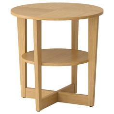 VEJMON Mesa de apoio - chapa de carvalho - IKEA