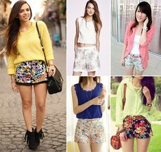 Style Tips To Wear Floral Shorts