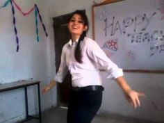 Indian girl dance in college - YouTube