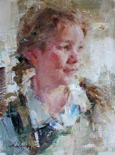 Girl in Green - Carolyn Anderson
