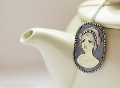 Handmade Gold and Silver Cameo Brooch/Pendant by MirielDesign on deviantART