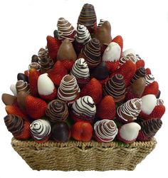 Chocolate strawberry bouquet