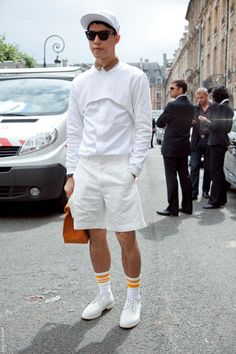 Danny Chow at Paris Mens Fashion Week S/S13