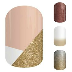 Some beautiful Jamberry Nails in nude shades. Perfect for the professional lady! http://www.aubreymueller.jamberrynails.net/shop