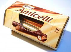 Hazelnut praline filled wafer sticks covered in Galaxy milk chocolate. Cello, Hazelnut Praline, Teenage Years, Childhood, Mars, Nostalgia, Yummy Food, Products, Infancy