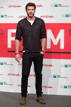10 iconos de estilo masculino - Liam Hemsworth