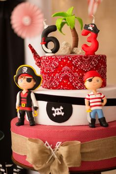 Pirate Cake, Pirate Party