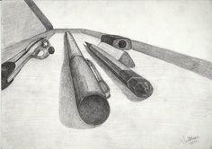 GEOMETRY BOX  pencil work