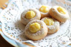 檸檬拇指餅乾(Lemon Thumbprint Cookies)