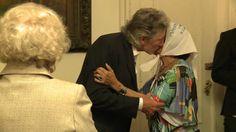 La Presidenta Cristina Fernández recibió Roger Waters