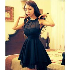 I am so happy to find the Sexy Perspective Irregular Mesh Stitching Chiffon Party Dress &Dress from ByGoods.com. I like it <3!Do you like it,too?