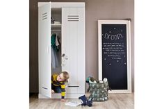 Buy Woood Connect 2 Door Wardrobe - White at Argos. Thousands of products for same day delivery or fast store collection. White Wardrobe, 2 Door Wardrobe, Solid Pine, Solid Wood, Armoire En Pin, Door Locker, Furniture Care, Hanging Rail, White Doors