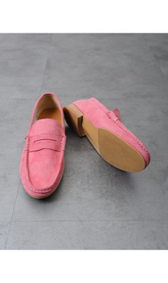 Mens Discount Custom-made Dean,Dan Suede Penny Loafer at Fabrixquare