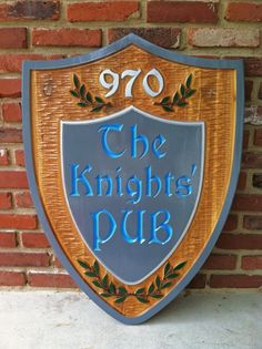 The Carving Company | Full Service Custom Carved Sign Shop | Custom Carved Business Signs - Bar Signs- Customized - Custom Carved Pub Signs (BP101)