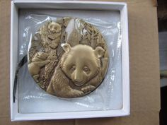 China 2012 Brass Medal - 30th Anniversary of the Issuance of Panda Gold Coin   Coins & Paper Money, Coins: World, Asia   eBay!