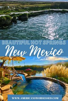 New Mexico Hot Springs: Are you looking for natural hot springs in New Mexico?  I have put together this list of the best hot springs in New Mexico. #newmexicotrue