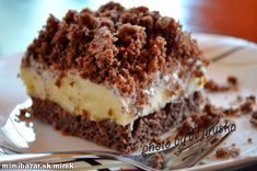 KRTKOVA TORTA NA PLECHU | Mimibazar.sk Tiramisu, Ethnic Recipes, Food, Cakes, Kuchen, Meals, Torte, Cake, Yemek