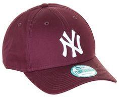 New Era League Essential New York Yankees Cap - Maroon | Snapback Caps | Snapback Hats UK | Cheap 5 Panel Caps | Skatehut | Skatehut