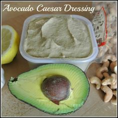 Vegan Avocado Caesar Dressing