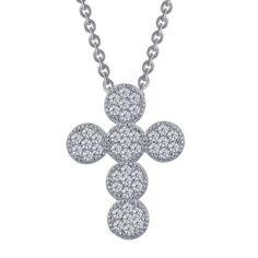 Joyous Pavé Cross Necklace