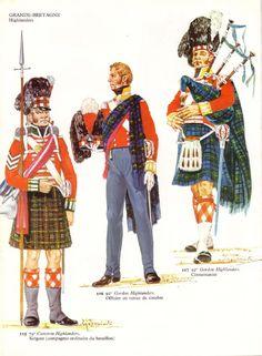 Wellington's Highland troops