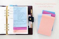 Planning & Post-it Notes via A Bowl Full of Lemons