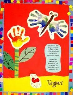 Kindergarten masterpieces!