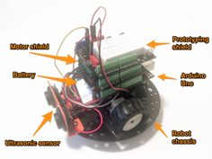 Maker Finds Daily - Daily selection of interesting articles and videos for makers Robot Chassis, Mobile Robot, Educational Robots, Robots For Kids, Arduino, Canning, Building, Articles, Videos