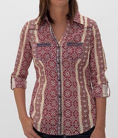 BKE+Printed+Shirt