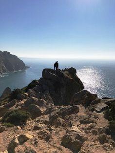 Backdrop of Atlantic, Portugal, 2017